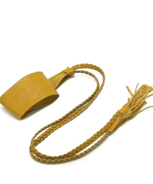 Nora - - Waist belts - Yellow - Ochre -