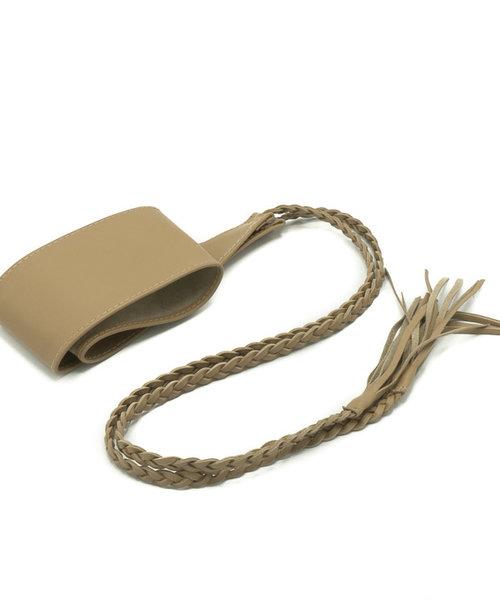 Nora - - Waist belts - Taupe - V07 -