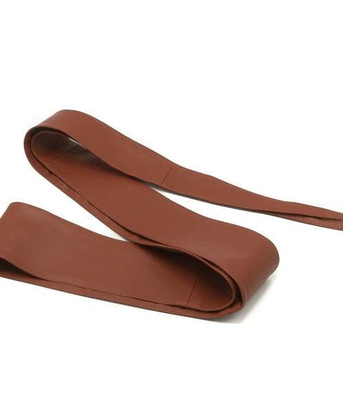 Serena - - Waist belts - Brown - Chocolate -