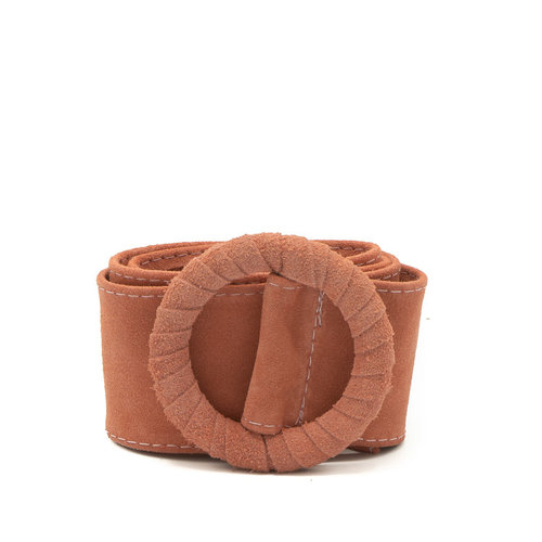 Vera - Suede - Belts with buckles - Pink - 27 -