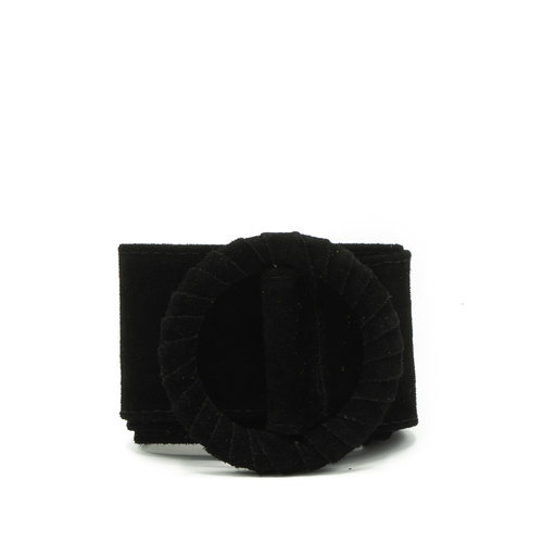 Vera - Suede - Belts with buckles - Black - 23 -