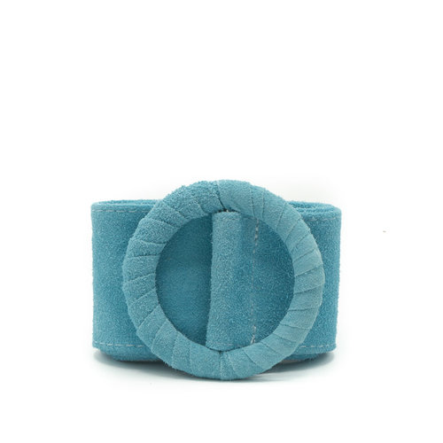 Vera - Suede - Belts with buckles - Blue - 11 -