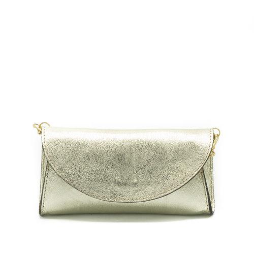 Claudia - Metallic - Bum bags - - Goud - Gold