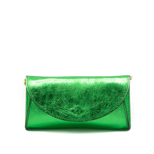 Claudia - Metallic - Heuptassen - Groen - Verde - Goudkleurig