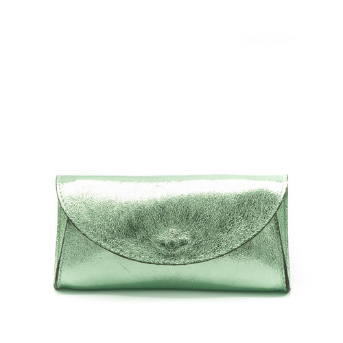 Claudia - Metallic - Bum bags - Green - Mente - Gold