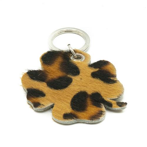 Tiffany - Hair - Keychain holders - - Leopard - Silver