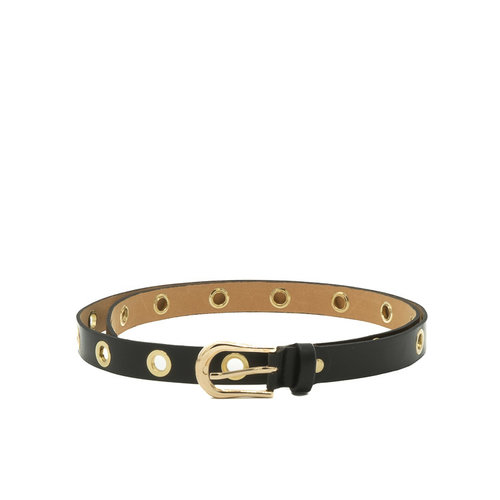 Avery - Sauvage - Belts with buckles - Black - - Gold