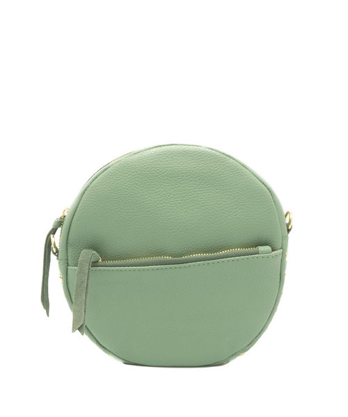 Nieuw Kim - Classic Grain - Crossbody bags - Green - D96 - Gold