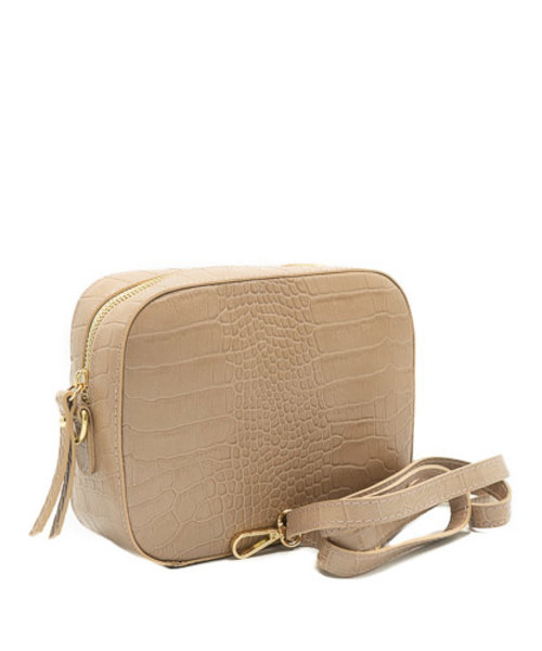Nieuw Olivia - Croco - Crossbody bags - - Dusty rose - Gold
