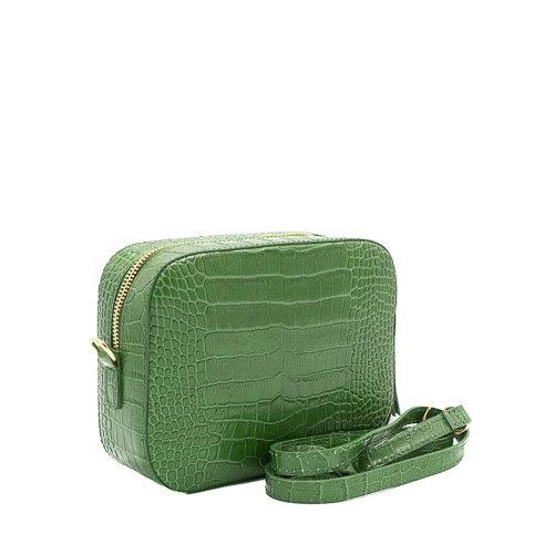 Nieuw Olivia - Croco - Crossbodytassen - Groen - - Goudkleurig