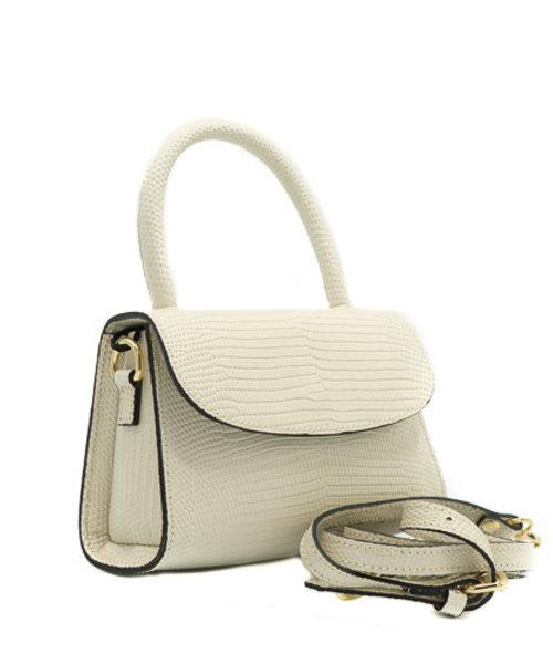Nieuw Fay - Lizard - Crossbody bags - - - Gold
