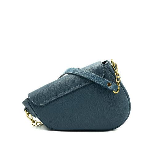 Nieuw Gigi - Classic Grain - Crossbodytassen - Blauw - D41 - Goudkleurig