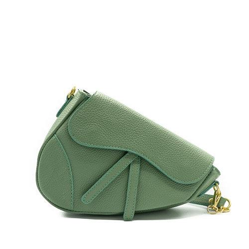 Nieuw Gigi - Classic Grain - Crossbodytassen - Groen - D96 - Goudkleurig