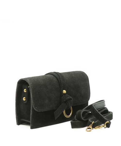 Nieuw Chrissy - Suede - Crossbody bags - Black - 23 - Bronze