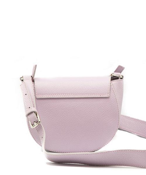 Christine - Classic Grain - Crossbody bags - Purple - D55 - Silver