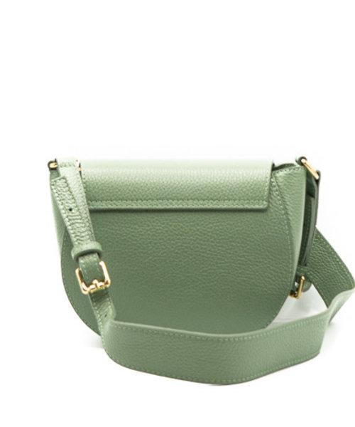 Christine - Classic Grain - Crossbody bags - Green - D96 - Gold