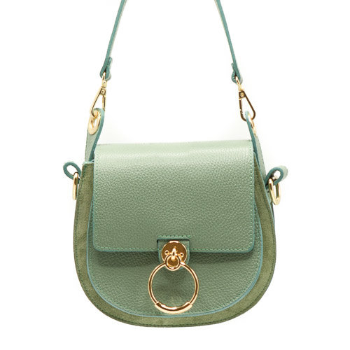 Gianna - Classic Grain - Crossbody bags - Green - D96 - Gold