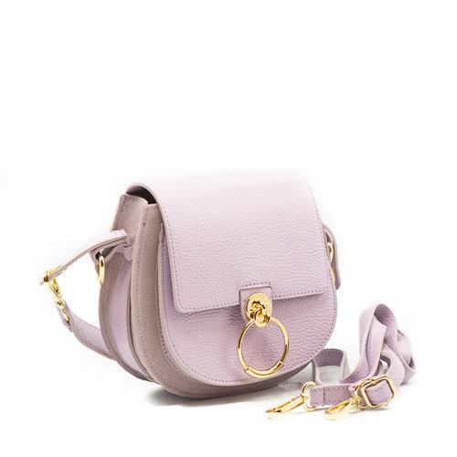 Gianna - Classic Grain - Crossbody bags - Purple - D55 - Gold