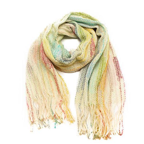 Misti - - Sjaals met print - Groen - -