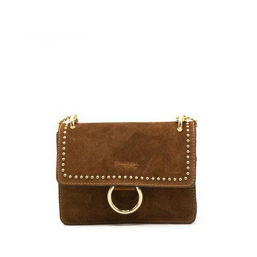 Nieuw Yara - Suede - Crossbody bags - Brown - 37 - Gold