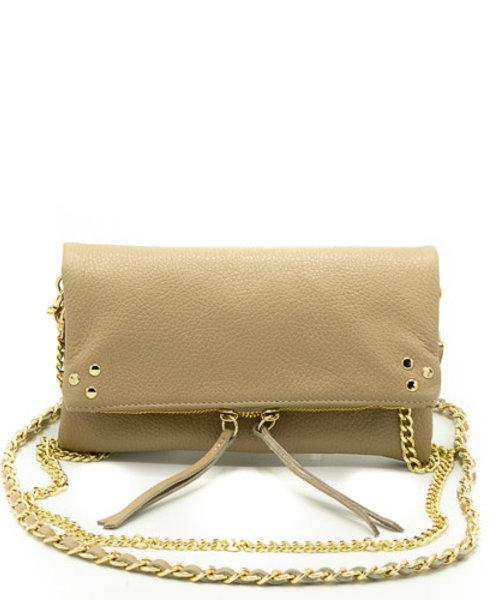 Volly - Classic Grain - Crossbody bags - Brown - D85 - Gold