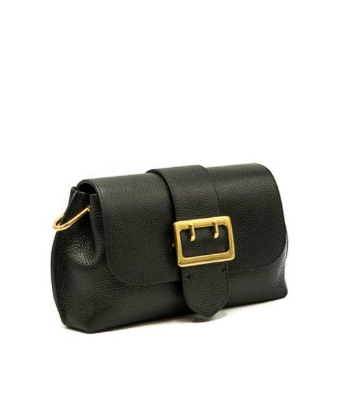 Charlie - Classic Grain - Crossbody bags - Black - D28 - Gold