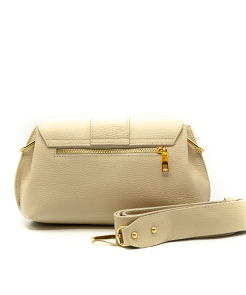 Charlie - Classic Grain - Crossbody bags - Beige - D37 - Gold