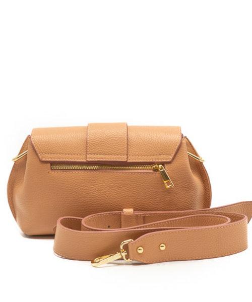 Charlie - Classic Grain - Crossbody bags - Pink - D83 - Gold