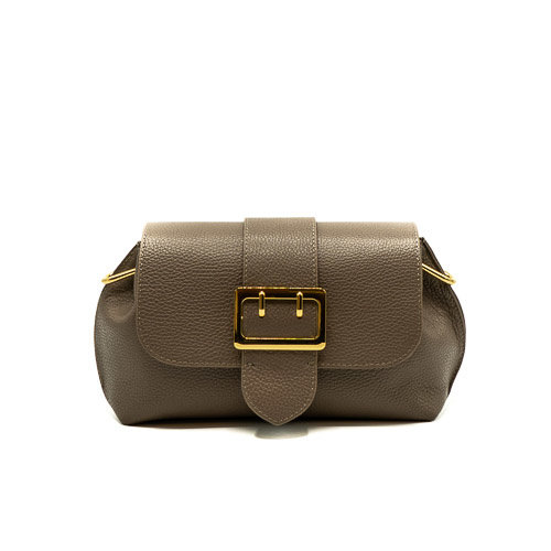 Charlie - Classic Grain - Crossbody bags - Grey - D77 - Gold