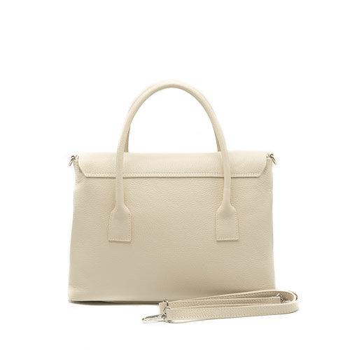Rachel - Classic Grain - Hand bags - Beige - D37 - Gold