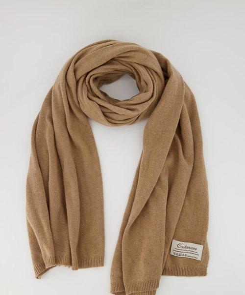 Cassy - Effen sjaals - Camello 751