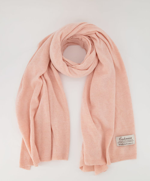 Cassy - Effen sjaals - Peach 873
