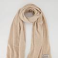 Cassy - Effen sjaals - Beige 750