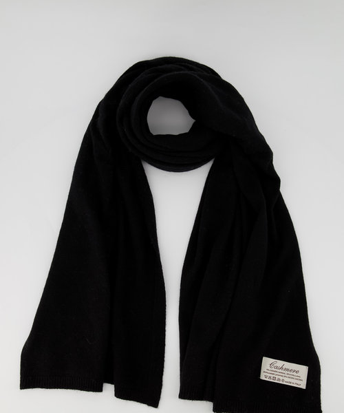 Cassy -  - Effen sjaals - Zwart - Nero 707 -