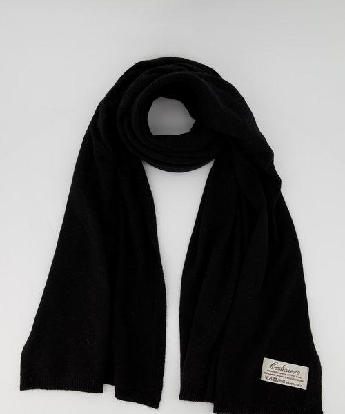 Cassy -  - Plain scarves - Black - Nero 707 -