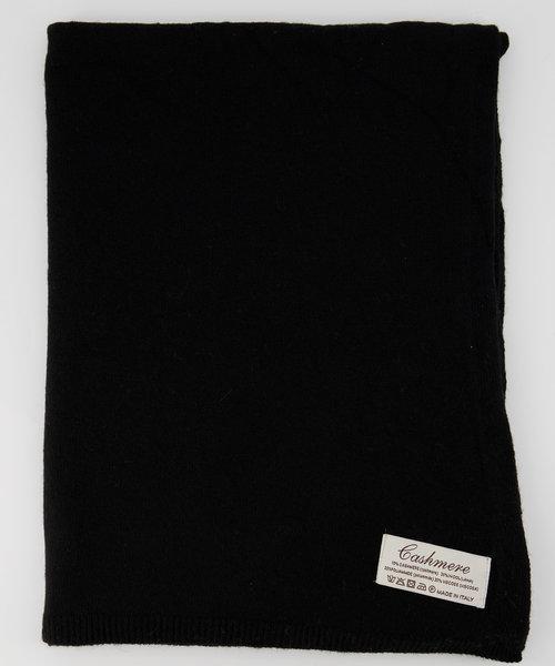 Cassy - Effen sjaals - Nero 707