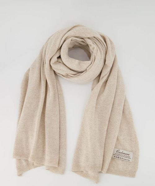 Cassy - Effen sjaals - Ecru 708
