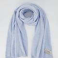 Cassy - Effen sjaals - Blu 723