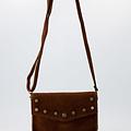 Nieuw Laura - Suede - Crossbody bags - Brown - 37 - Bronze