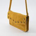 Laura - Suede - Crossbody bags - Yellow - 44 - Bronze
