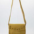 Laura - Suede - Crossbody bags - Yellow - 51 - Bronze