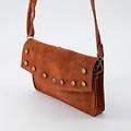 Laura - Suede - Crossbody bags - Brick - 61 - Bronze