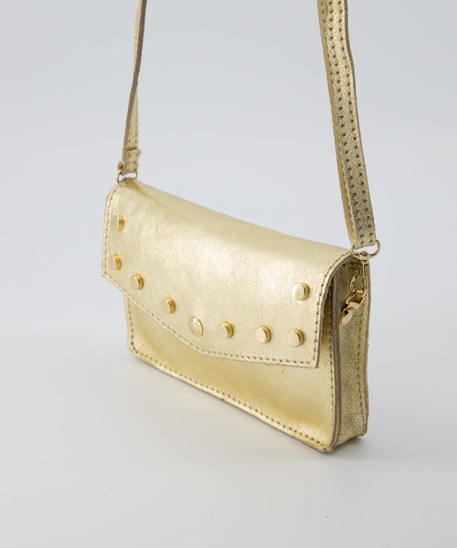 Laura - Metallic - Crossbody bags - - Goud 4L - Gold