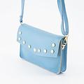 Laura - Classic Grain - Crossbody bags - Blue - D20 - Gold