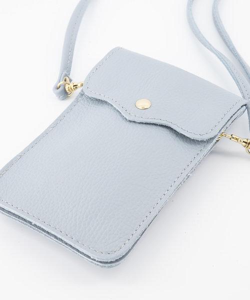 Pona - Classic Grain - Crossbody bags - Blue - D92 - Gold