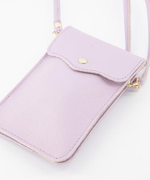 Pona - Classic Grain - Crossbody bags - Purple - D55 - Gold