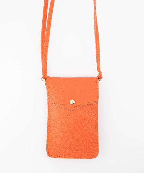 Pona - Classic Grain - Crossbody bags - Orange - D29 - Gold