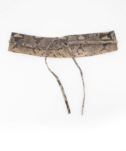 Lily - Snake - Waist belts - Beige - 4 -