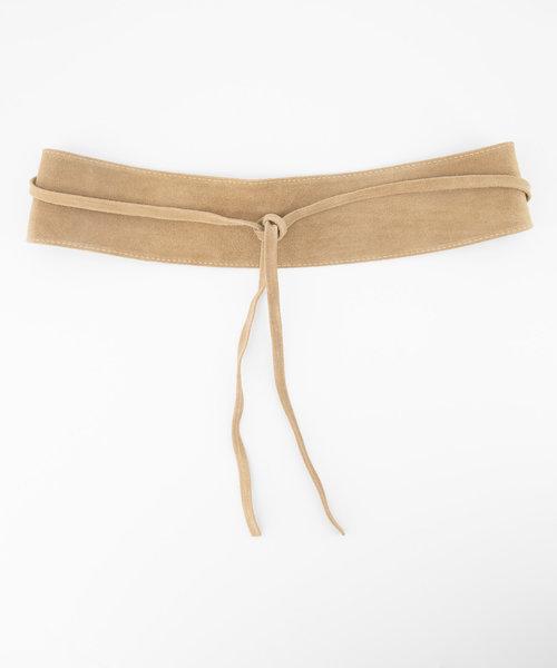 Nikkie - Suede - Waist belts - Beige - 4 -