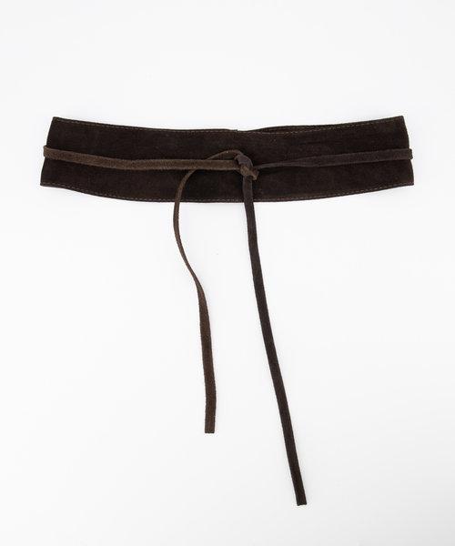 Nikkie - Suede - Waist belts - Brown - 7 -